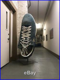 Vtg HUGE PUMA Suede Advertising RARE 6 Shoe Display Sign Nike Sports Store MCM