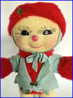 Vtg Harold Gale Snowbaby Snowman Christmas Display Department Store Snow Baby