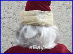 Vtg Harold Gayle Mechanical Santa 70 Rare Life size Macy NY Store Display L@@K