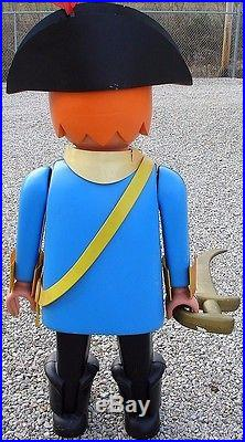 Vtg Playmobil LIFE SIZE Pirate Store Display Red Beard