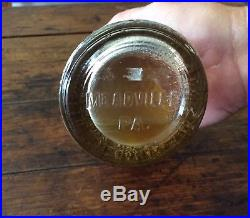 Whistle Soda Cast Iron Hand with Vintage Orange Bottle Sealed VERY RARE