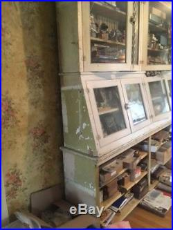 Wonderful Antique/Vintage General Country Store Display Cabinet Case