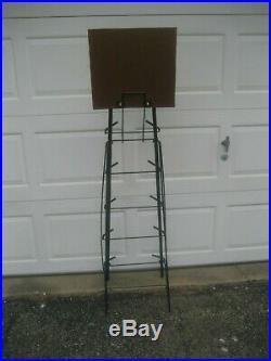 Zildjian Vintage Original Steel Cymbal Tree Store Display Stand! 5 Foot Tall